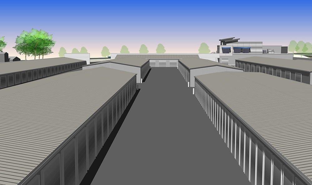 Self storage units in Meridian