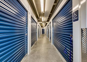 Climate controlled self storage at Keylock Storage in Meridian