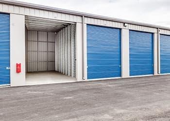 Drive up self storage at Keylock Storage in Meridian