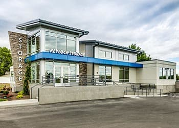 Leasing office at self storage in Meridian, ID