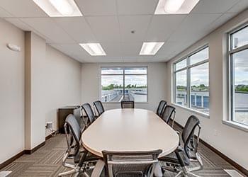 Office at self storage in Meridian, ID