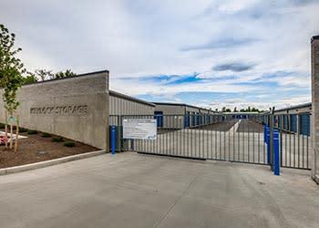 Secure gate at Keylock Storage in Meridian