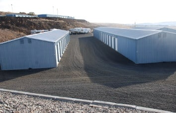 Pendleton Self Storage Exterior Units