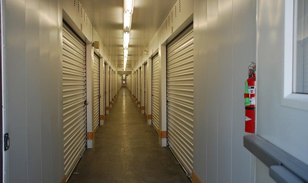 Interior self storage units in Pasco