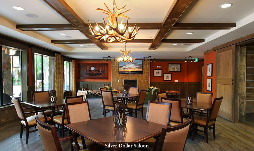Great dining options at American House Wildwood