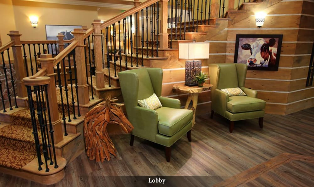 Comfortable common areas at American House Wildwood