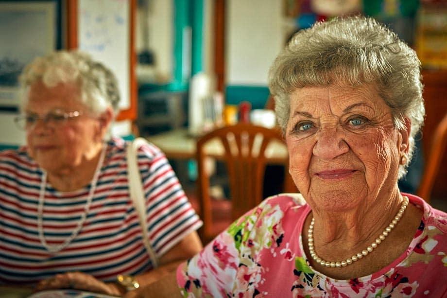 Women residents at Bonita Springs, FL