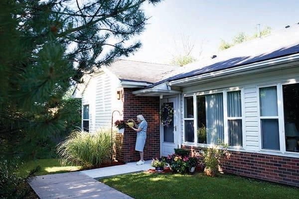Exterior Of Villa Senior Living In Dearborn Heights MI