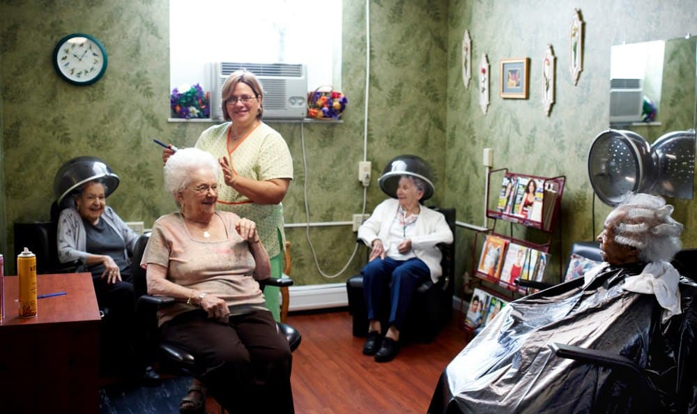 Relax At the Salon At Senior Living In Farmington Hills MI