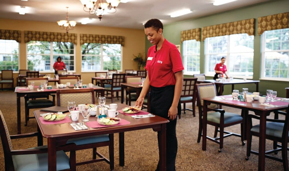 Friendly Staff at American House Grand Rapids Senior Living in Grand Rapids, MI