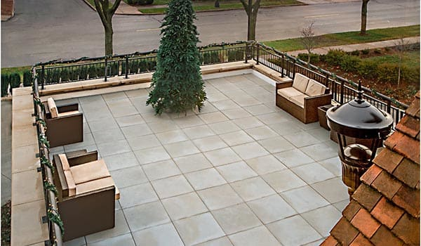 Relax On The Patio At Senior Living In Grosse Pointe Farms, MI