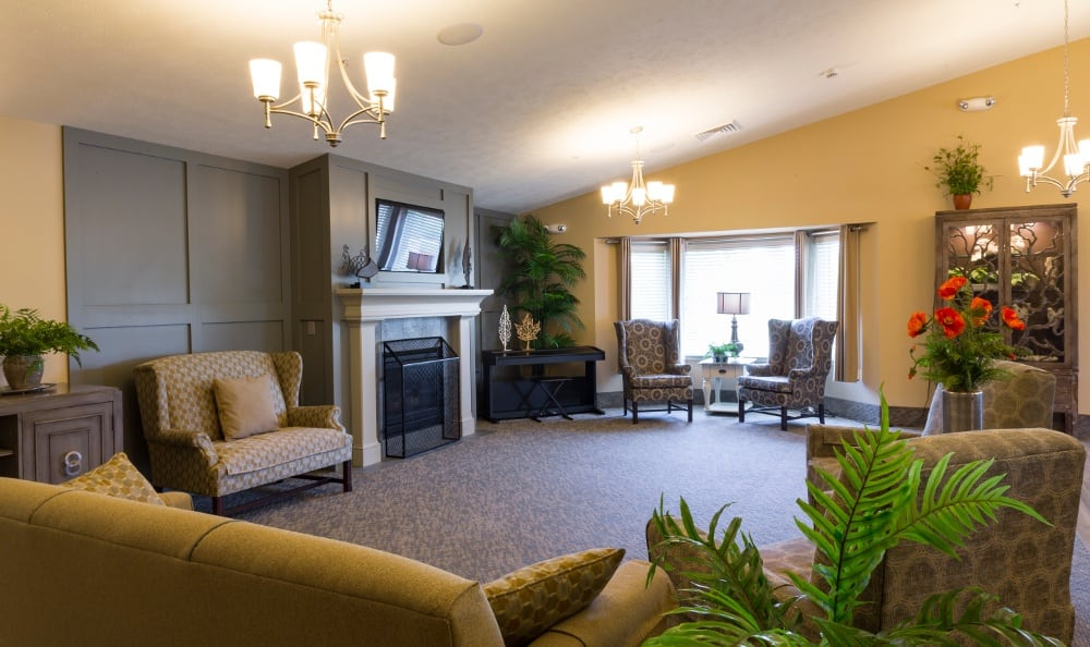 Interior Of Senior Living In Holland MI