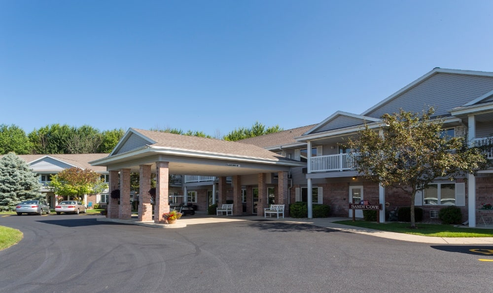 Building Exterior at Senior Living In Holland, MI