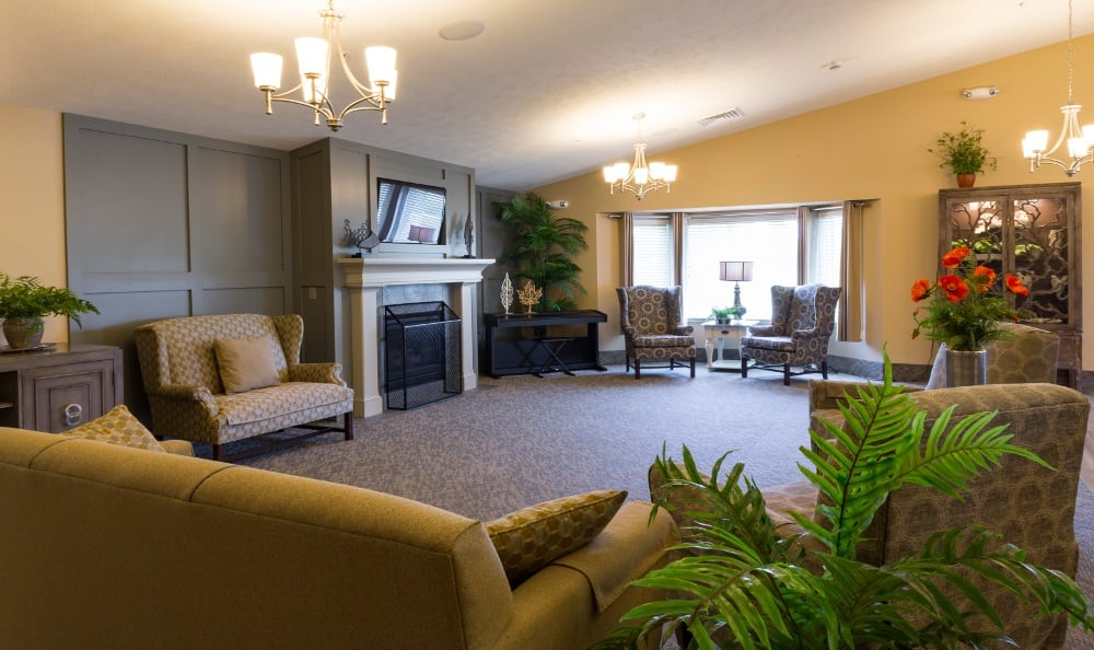 Cozy Interior of Senior Living In Holland, MI