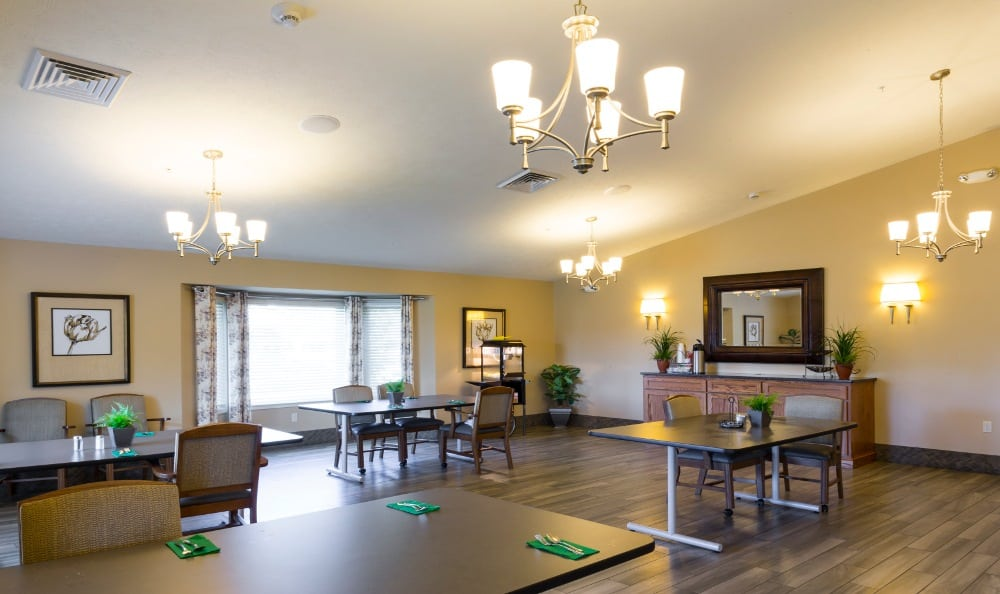 Community Lounge at Senior Living In Holland, MI