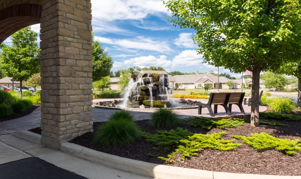 Fountain at Senior Living In Jenison, MI