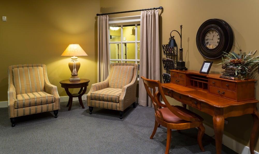 Office Area at Senior Living In Jenison, MI