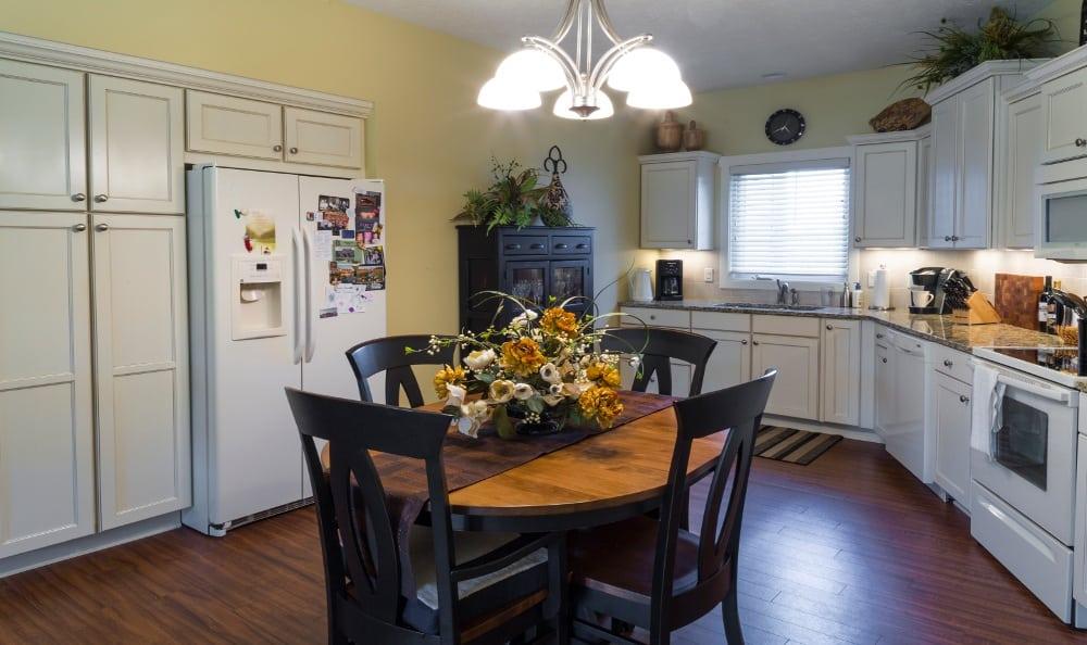Example Kitchen at Senior Living In Jenison, MI