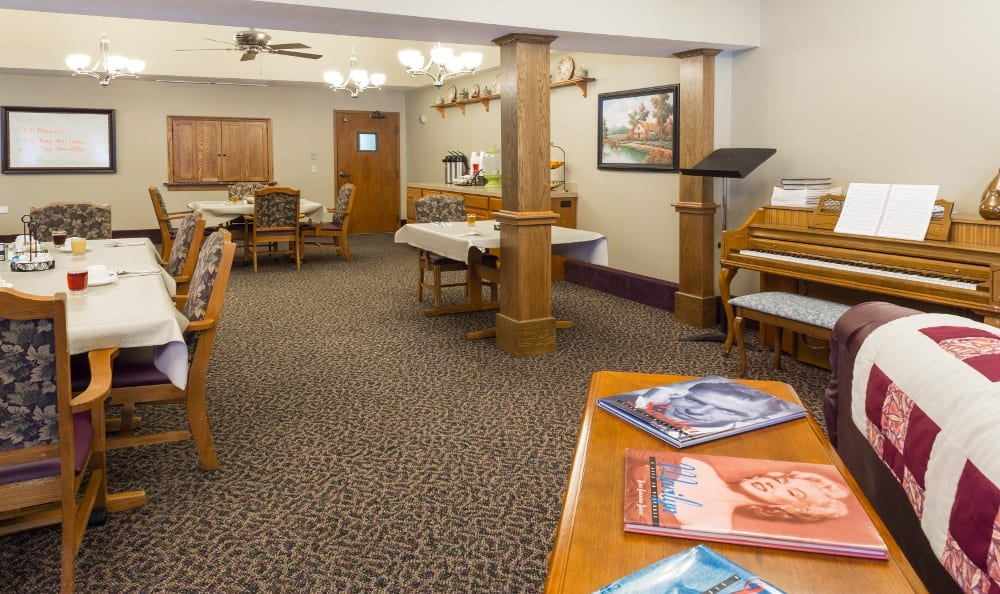 Community Room at Senior Living In Kentwood, MI