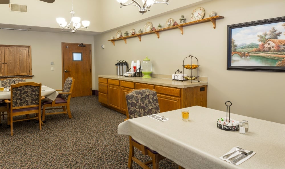 Anytime Cafe at Senior Living In Kentwood, MI