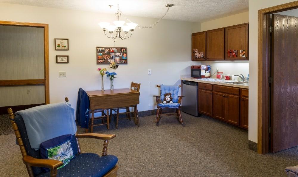 Efficiency Kitchen at Senior Living In Kentwood, MI