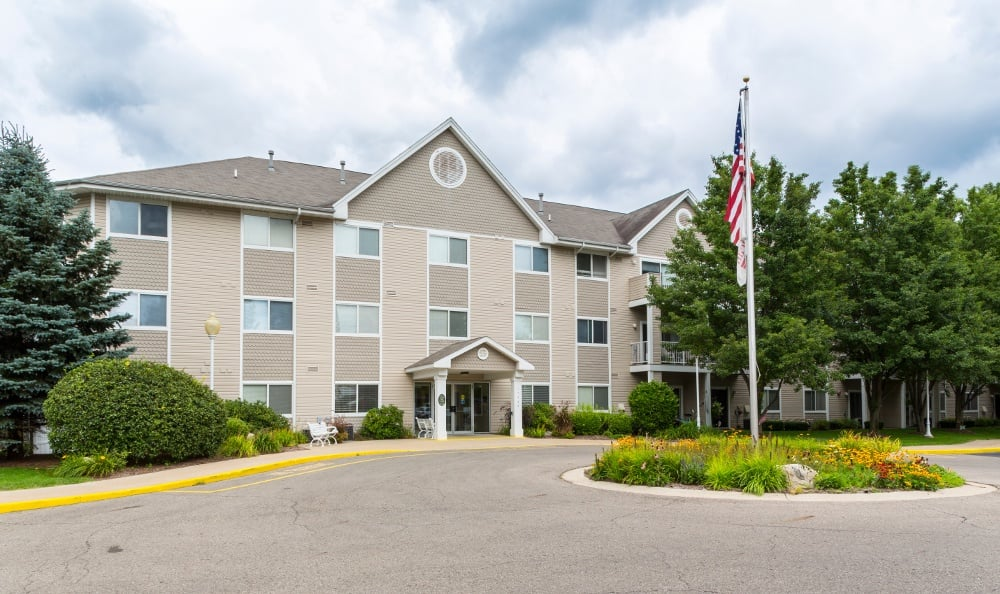 Exterior Of Senior Living In Spring Lake, MI