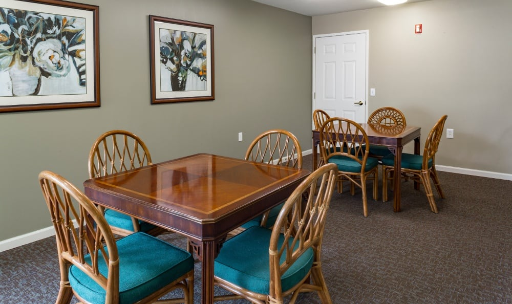 Activities Room At Senior Living In Spring Lake, MI