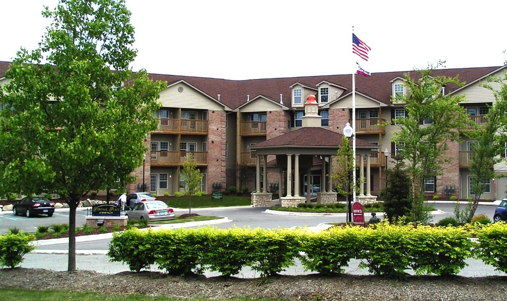 Exterior Of Senior Living In Milford, MI