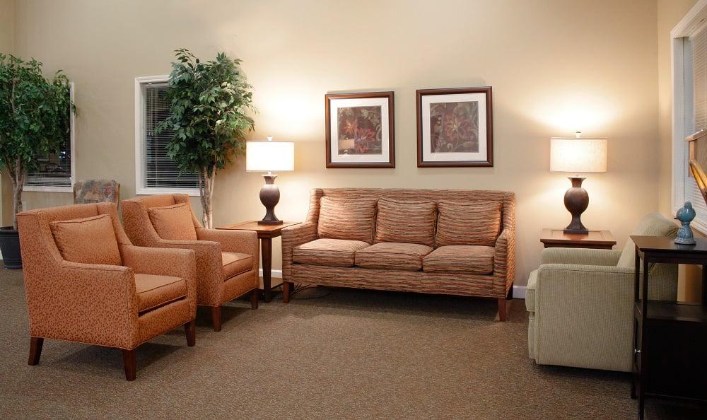 Cozy interior at Senior Living In Petoskey, MI