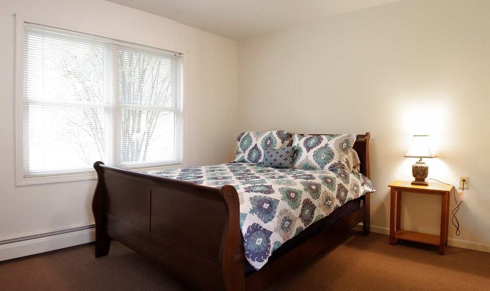 Example Bedroom at Senior Living In Petoskey, MI