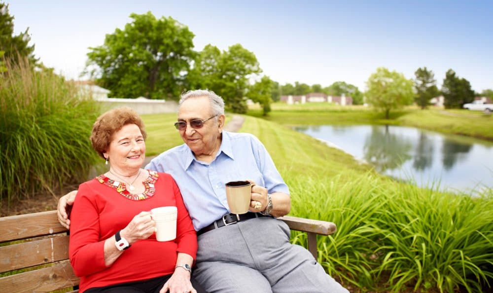 Relax By the Pond At Senior Living In Taylor, MI