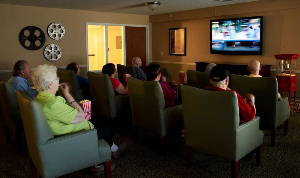 Movie Night At Senior Living In Sterling Heights, MI