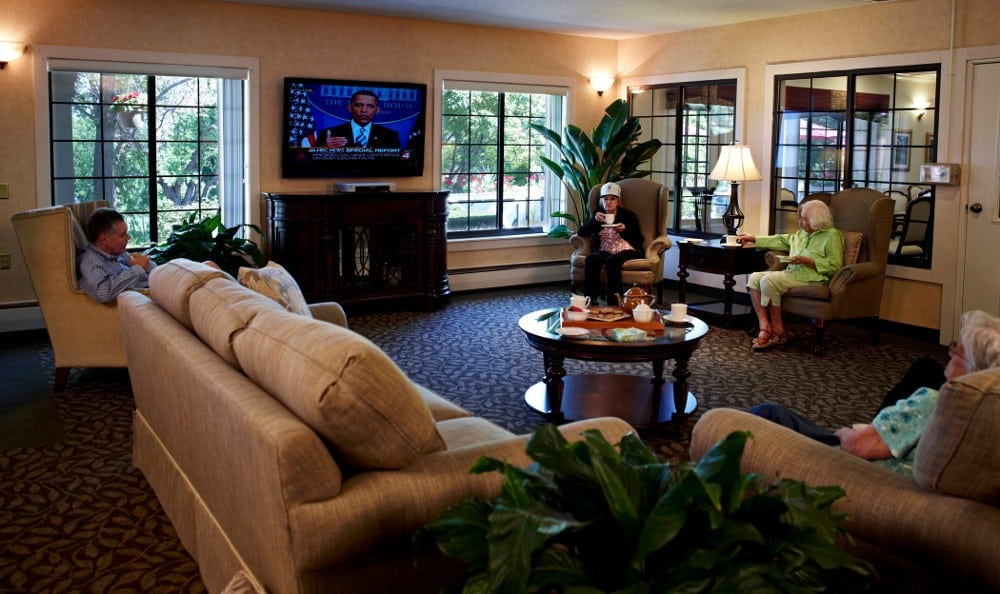 The Lobby At Senior Living in Rochester Hills, MI