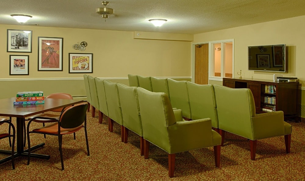Theater At Senior Living In Westland, MI