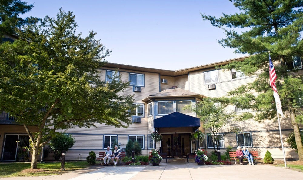 Exterior Of Senior Living in Westland, MI