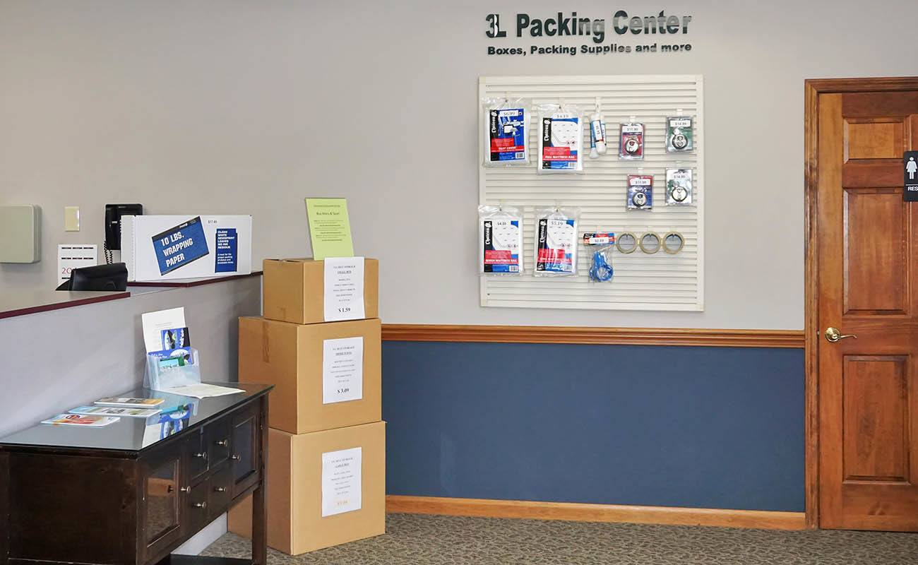 Fort Wright self storage features all the moving supplies you need
