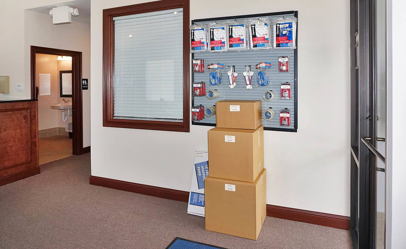 Wilder self storage features all the moving supplies you need