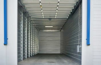 Exterior self storage unit in Wilder