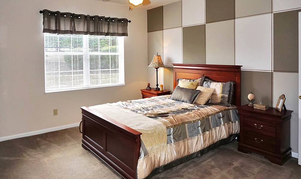 Wilder Apartments Modern Bedroom