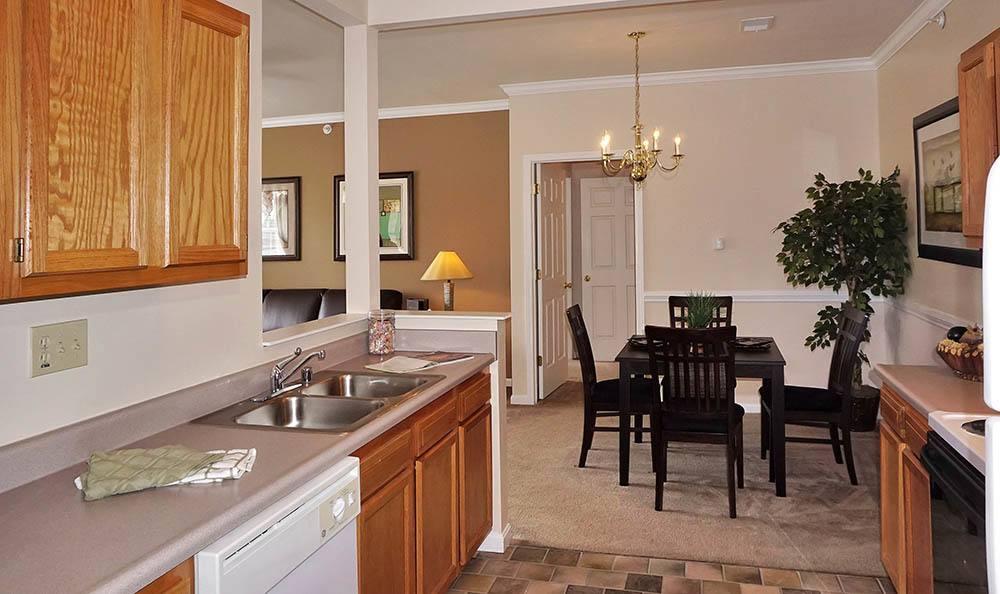 Wilder Apartments Sleek Kitchen