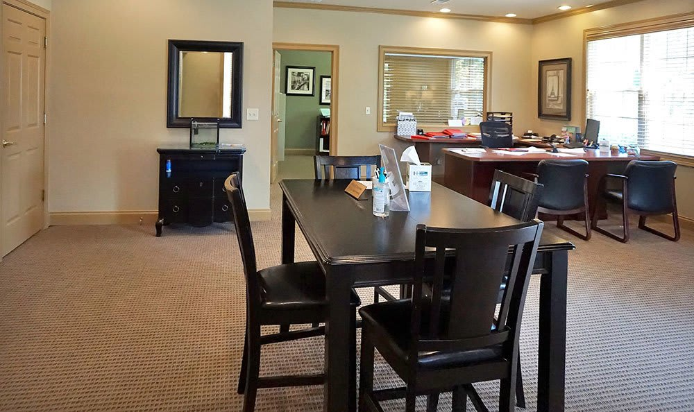 Leasing Office Interior at Four Seasons Apartments in Erlanger, KY