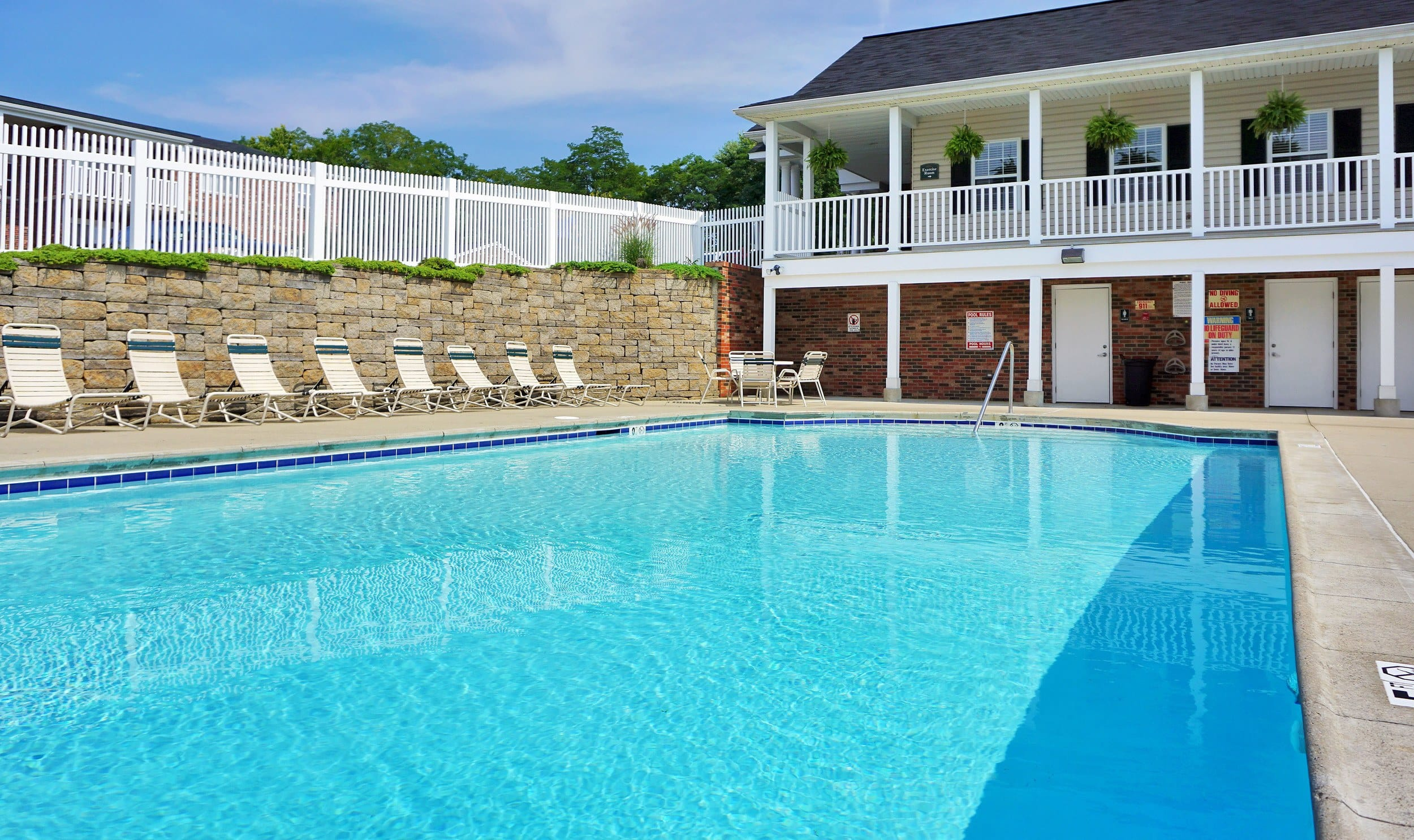 Swimming Pool at Reserve at Ft. Mitchell Apartments in Ft. Mitchell, KY