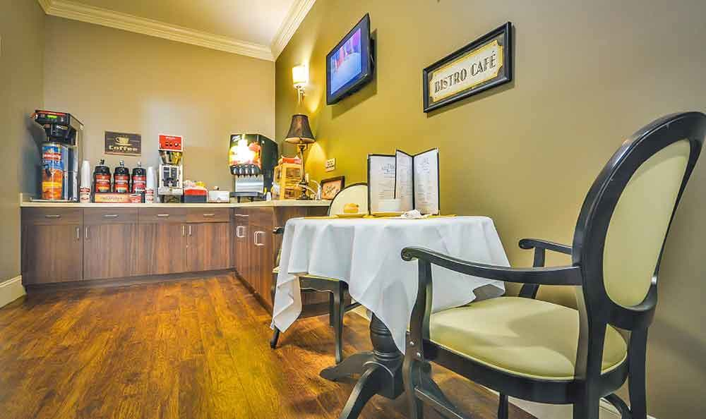 Bistro At Our Senior Living Home In Covington