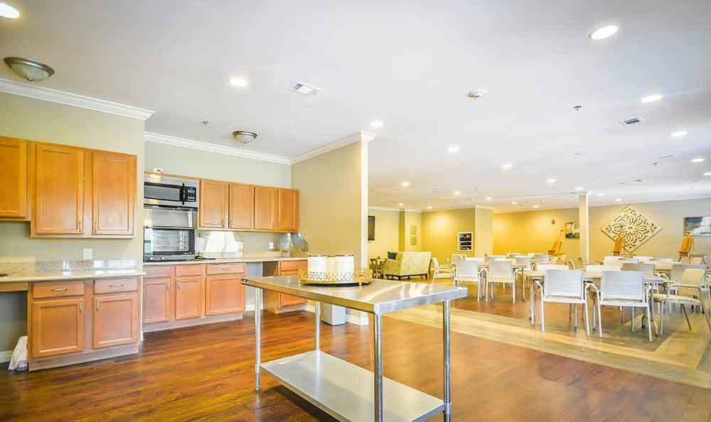 Kitchen At Our Senior Living Home In Covington