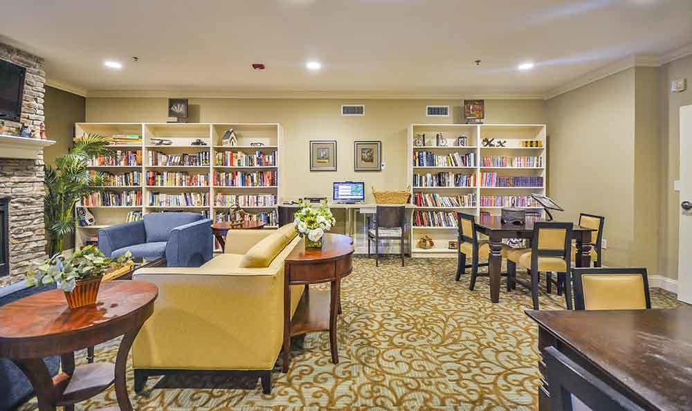 Rec Room At Our Senior Living Home In Covington