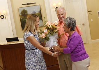 Dining experiences for seniors with concierge service at Aston Gardens At Pelican Pointe