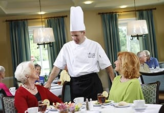 Enjoy delicious dining at Aston Gardens At The Courtyards