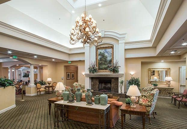 Senior living with elegant decorating style in Parkland, FL