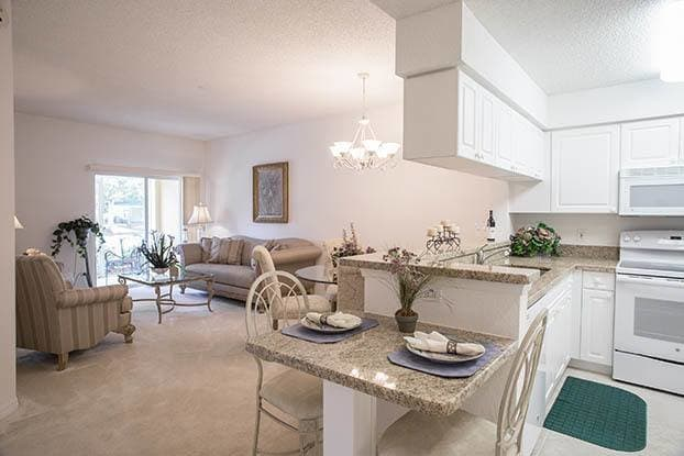 Beautiful and spacious rooms await you at Aston Gardens At Parkland Commons in Parkland, FL