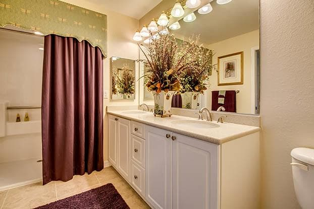 Enjoy your beautiful new bathroom at Aston Gardens At Pelican Marsh in Naples, FL
